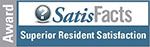 SatisFacts Superior Resident Satisfaction Award